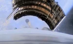 Видео с бортовых камер ракеты Союз-2.1а