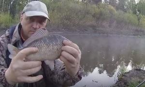 Павел Балушкин: Рыбалка на речке!