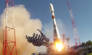 Пуск ракеты Союз-2.1Б с аппаратом Глонасс-М (29.05.2016) | The launch of Soyuz-2.1 B with GLONASS device-M (29.05.2016)