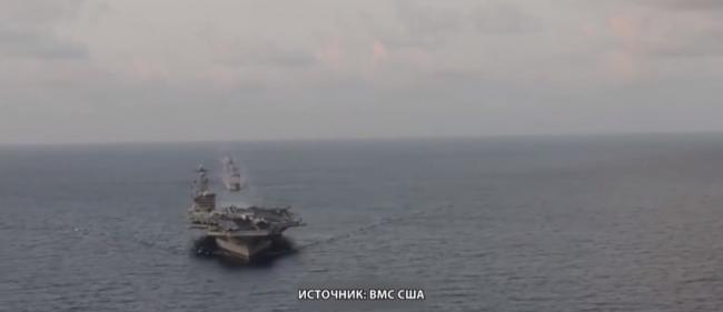 Ракетный эсминец США провоцирует Китайцев в Южно-Китайском море