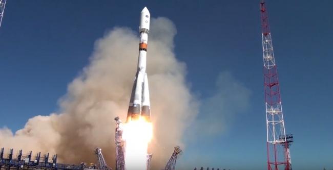 Пуск ракеты Союз-2.1Б с аппаратом Глонасс-М (29.05.2016)