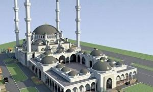Строительство Соборной мечети Крыма началось сегодня в Симферополе