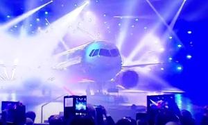 Новый самолете МС-21 | The new aircraft MS-21
