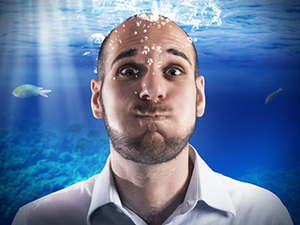 Особенности дыхания под водой