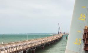 Стройка века - Крымский мост - июнь 2016