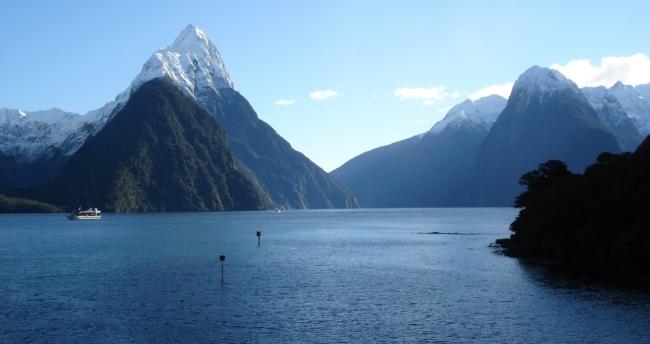 Подводная охота в Новой Зеландии