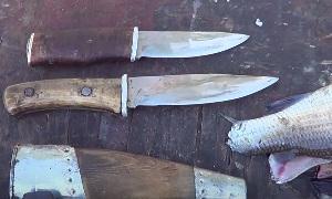 Нож для разделки рыбы (таёжный)