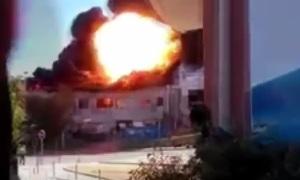 Во Франции на территории больницы прогремели два взрыва