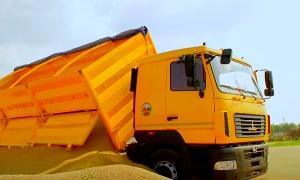 Зерновоз МАЗ | MAZ grain truck