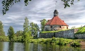 Крепость Корела (Кексгольмская крепость) в Приозерске