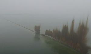 Взрыв дамбы в Китае (видео)
