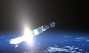 Телестудия Роскосмоса: Пуск Союз-У с транспортным грузовым кораблем Прогресс МС-03
