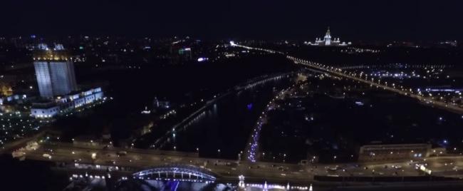 Забег по ночной Москве