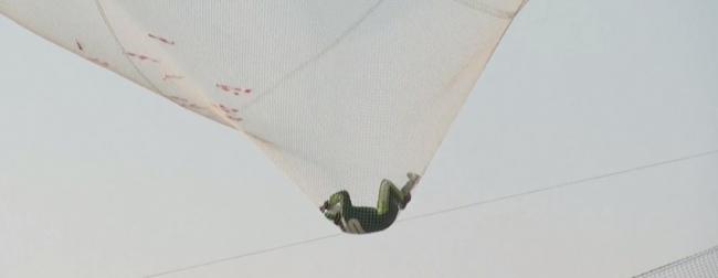 Прыжок без парашюта с высоты более 7 км