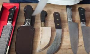 Все про ножи на кухне