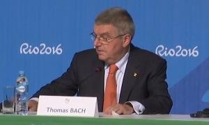 Пресс-конференция главы МОК