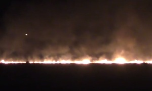 (23.08.2016) - Донецк в огне после ночных обстрелов ВСУ