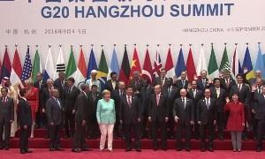 Церемонии фотографирования глав стран G20 (2016)