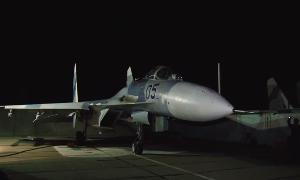 Летчики ЮВО ночью перехватили ракетоносцы условного противника