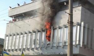 Аваков: Журналисты Интера сами на себя напали и подожгли.