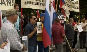 Митинг против WADA и в поддержку российских паралимпийцев прошел в Канаде.