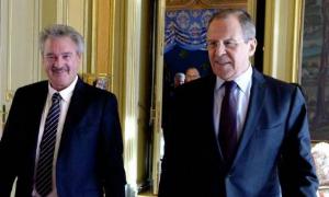 Пресс-конференция Сергея Лаврова и Жана Ассельборна