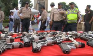 Конфискат огнестрельного оружия в Венесуэле