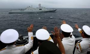 Россия и Китай: начали учения «Морское взаимодействие-2016»