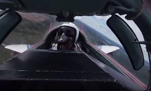 Видео 360: Вид из кабины МиГ-29 «Стрижей»
