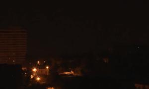Ночной обстрел Макеевки (14.09.2016)