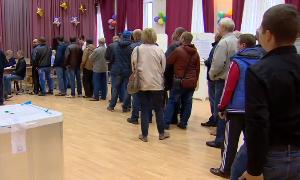 В Москве открылись избирательные участки