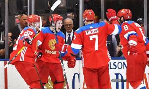 Хоккеисты России обыграли финнов 3:0