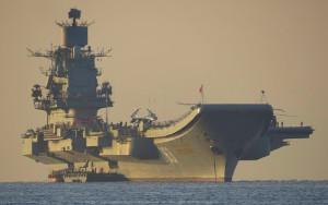 Петр Великий, Адмирал Кузнецов и Вице-адмирал Кулаков отправились в Сирию.