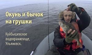 Павел Ефремов: Окунь и бычок на «грушки» (Волга)