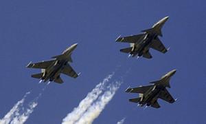 Авиация стран СНГ поднятая по учебой тревоге