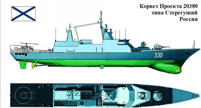 Корвет проекта 20380 | Corvette 20380