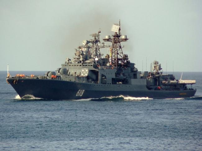 «Североморск» — большой противолодочный корабль проекта 1155.