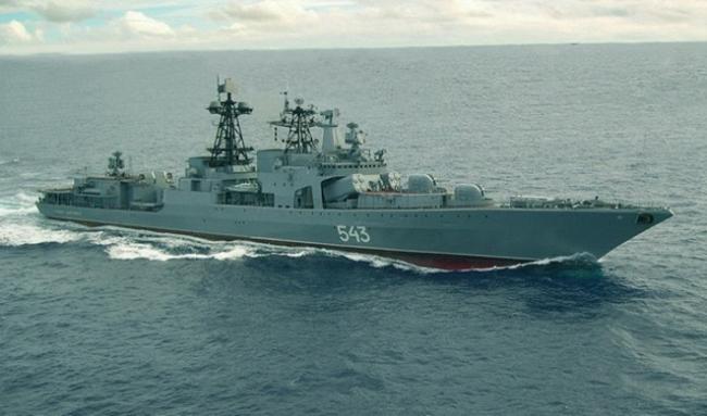 «Вице-адмирал Кулаков» — большой противолодочный корабль