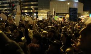 В США проходят протесты против Трампа