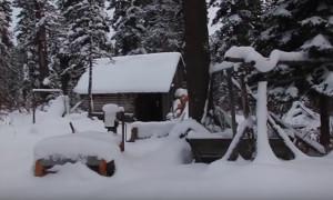 Абвгат: Зимняя тайга, таежный отдых, зимовья, поход с Экипирус