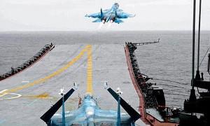 Авиация Адмирала Кузнецова начала полеты над Сирией
