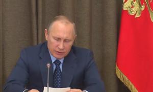 Совещание Путина с руководством Минобороны и предприятий ОПК (Сочи)