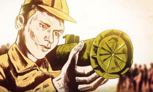 Мультфильм про подвиг русского морпеха в Сирии