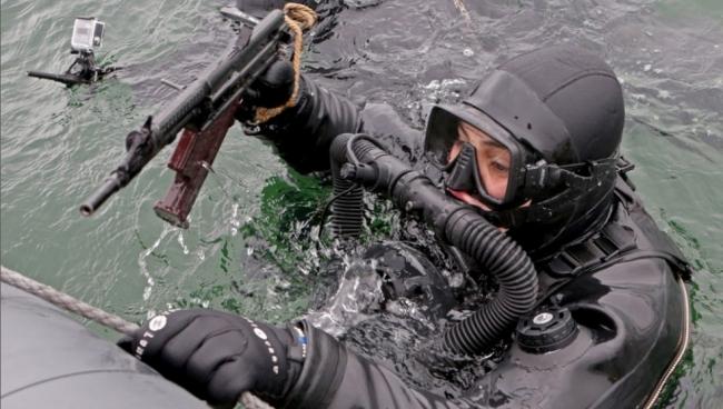 Экипировка для подводных диверсантов