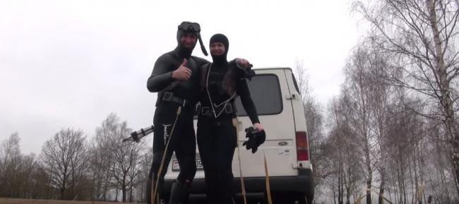 Подводная охотница Анастасия Шкиль
