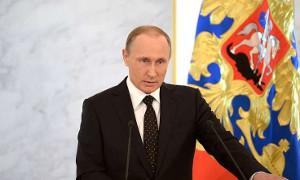 Трансляция: Послание Президента РФ Владимира Путина Федеральному Собранию. 2016