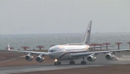 Владимир Путин прибыл в Японию