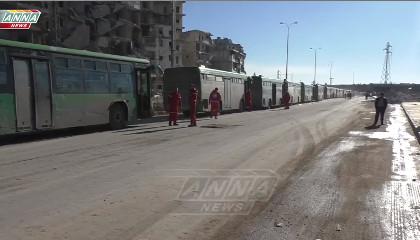 Выход боевиков из Алеппо - Как это было