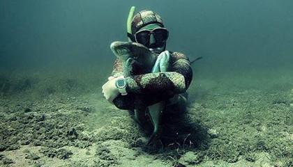 Подводная охота в Хорватии