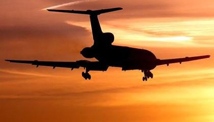 Самолет Ту-154 упал в Черное море.